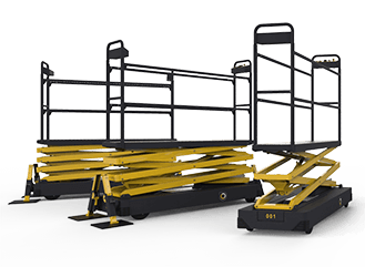 Qii-Lift pipe rail trolley