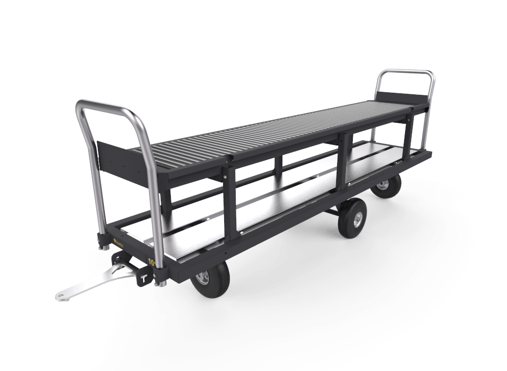Bo Cart harvest trolley with rubber air tires