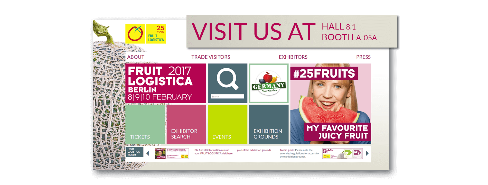 Bogaerts Greenhouse Logistics - Fruit Logistica 2017