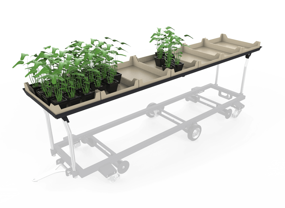 plant greenhouse planting frame